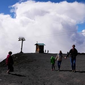 マルタからシチリアへOne Day Trip②世界遺産エトナ火山へ