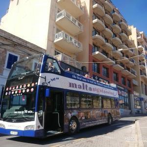 マルタ北部をバスで1日観光