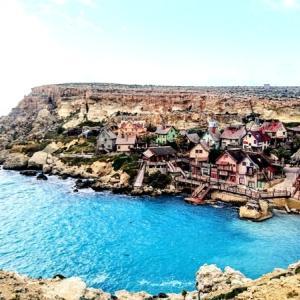 マルタ北部のバス観光~Golden Bay & Popeye Village~