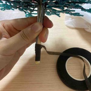 【クリスマス】ビーズツリーの作り方。土台の組み立て方〜完成まで【手作り】