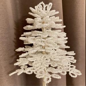 ホワイトクリスマスツリー8段目まで☺️YouTuberのスーツさんにはまっています。