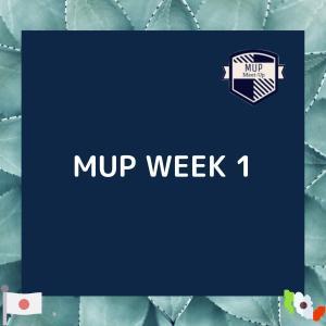 【MUP WEEK 1】MUPへ入学した理由