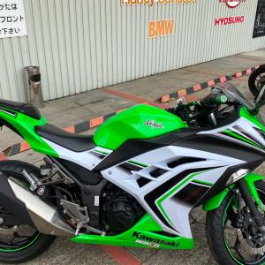 バイク買いました