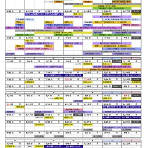 【乃木坂46】有能ファンがまとめた 『OG含む9月末までの舞台日程表 全ツ付』これ凄い