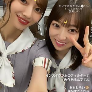 【乃木坂46】梅澤美波×阪口珠美 ボブたまカワイイ