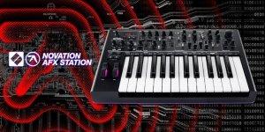 Aphex Twin(エイフェックス・ツイン)とのコラボシンセ『AFX Station』が登場!あまり新鮮味はない?|Novation(ノベーション)