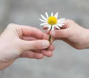 小さな親切を 勇気をもって