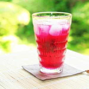 季節限定!赤紫蘇ジュース・ゼリー レシピ はちみつ・氷砂糖・きび砂糖