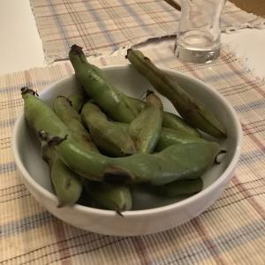連話§ワタシの酒肴[149]焼き空豆の馥郁