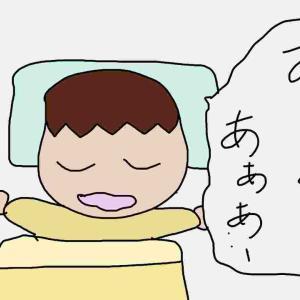 息子の入眠儀式