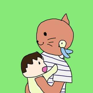 息子とインコ