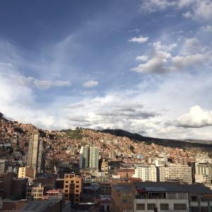 世界一標高が高い首都ラパス