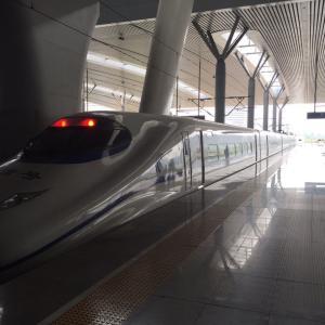 中国の新幹線に乗って気付いた日本との違い