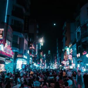 夜景スポット むつ市釜臥山