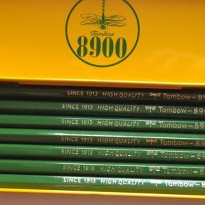 2020.8.9 今、鉛筆の主流は2Bらしい