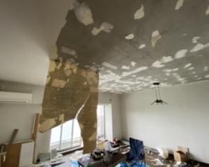 窓際おじさん ✖ 壁紙剥がし