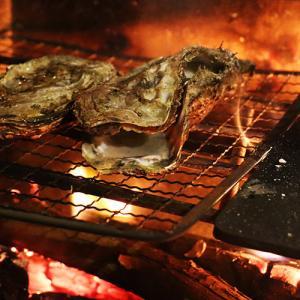今年のラストキャンプは牡蠣で締める!