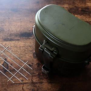 兵式飯盒の蒸し器を100均素材でDIY!