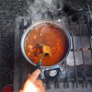 オヤジの料理はカレーライスと餃子になりました