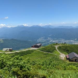 唐松岳 夏山ハイク⑧