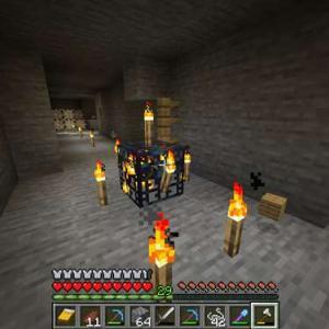 【マイクラ】村周辺でのんびりそして炭鉱発見!