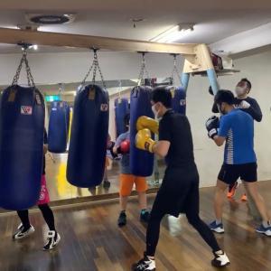 祝梅雨明け ボクシング練習で汗を流してきました