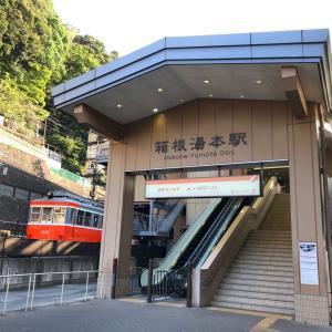箱根湯本から金時山を越えるつもりでしたが途中エスケープして乗ったバスが事故に遭うという・・・