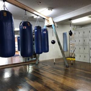 中1日でボクシング練習