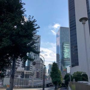 猛暑なのに渋谷から帰宅ラン