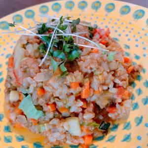 【大豆ミートと野菜かさ増し】で大満足ごはん‼️