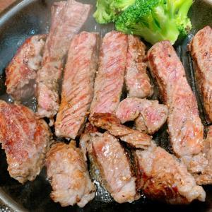 いきなりステーキで【脂肪燃焼効果が高い赤身肉】を大量摂取‼️