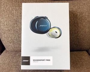 【レビュー】ワイヤレスイヤホンBOSEのメリット・デメリット(BOSE SOUNDSPORT FREE)