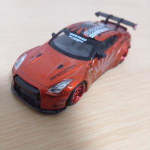 MINI GT LB☆WORKS Nissan GT-R Candy Red