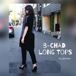 b-chad  long pullover sideslit
