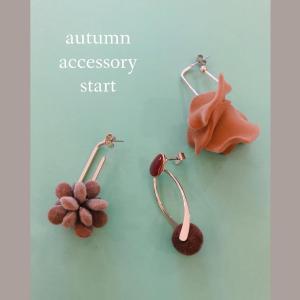 autumn accessory start!