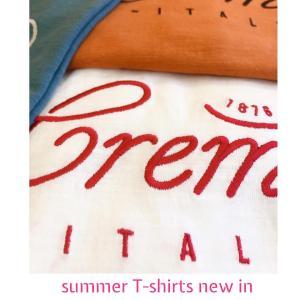 夏のTシャツセレクトが集合中