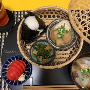 めずらしく和朝食