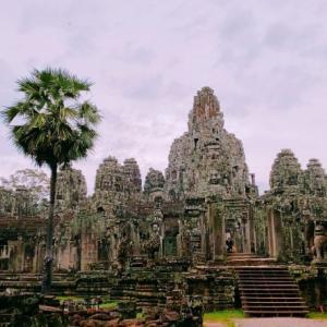 超巨大遺跡アンコールトム バイヨン遺跡で置き去りに~カンボジア旅行記⑤~