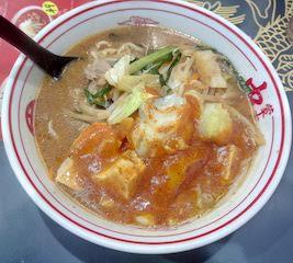 蒙古タンメン中本で蒙古タンメンを食べてきた