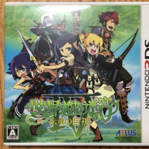 [3DS] 世界樹の迷宮4をプレイ中