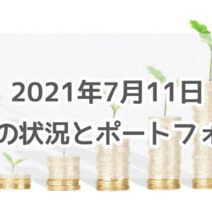 2021年7月11日 資産の状況とポートフォリオ