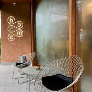 Baan Somtumに併設しているカフェhorme cafe(ホームカフェ)@バンナー