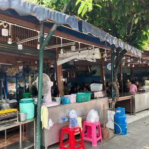 ワット・アルン近くのタイ料理食堂クイッティアオルア・アユタヤー・ルン@トンブリー