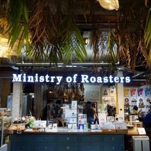 コーヒーロースターの名店カフェMinistry of Roasters(ミニストリー・オブ・ロースターズ)@プンナウィティ・ウドムスック