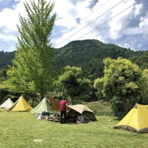 カブでキャンプ その2