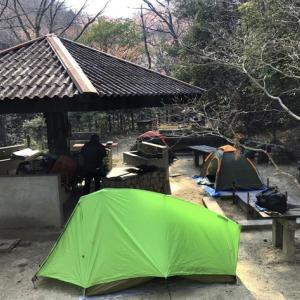 カブでキャンプ その1