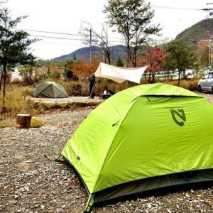 カブでキャンプ その4のその1