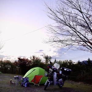 カブプロでソロキャンプ2