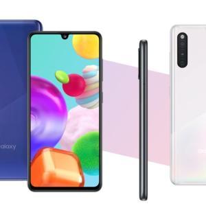 Galaxy A41が初3位に 今売れてるスマートフォンTOP10