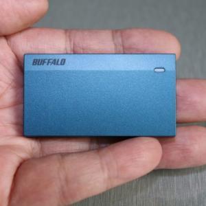 バッファロー ポータブルSSD SSD-PSM960U3レビュー